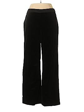 Linda Allard Ellen Tracy Velour Pants Size 14