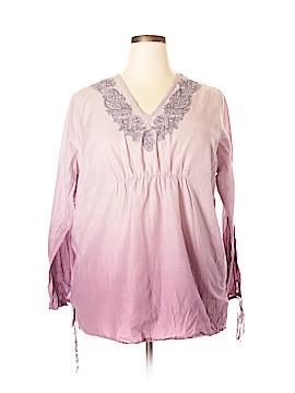Venezia Long Sleeve Blouse Size 18 (Plus)