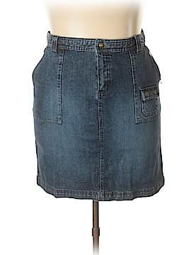 Columbia Denim Skirt Size 16