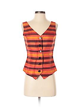 Dana Buchman Tuxedo Vest Size 2