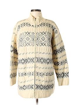 Jones New York Sport Wool Cardigan Size M