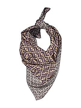 Fendi Silk Scarf One Size