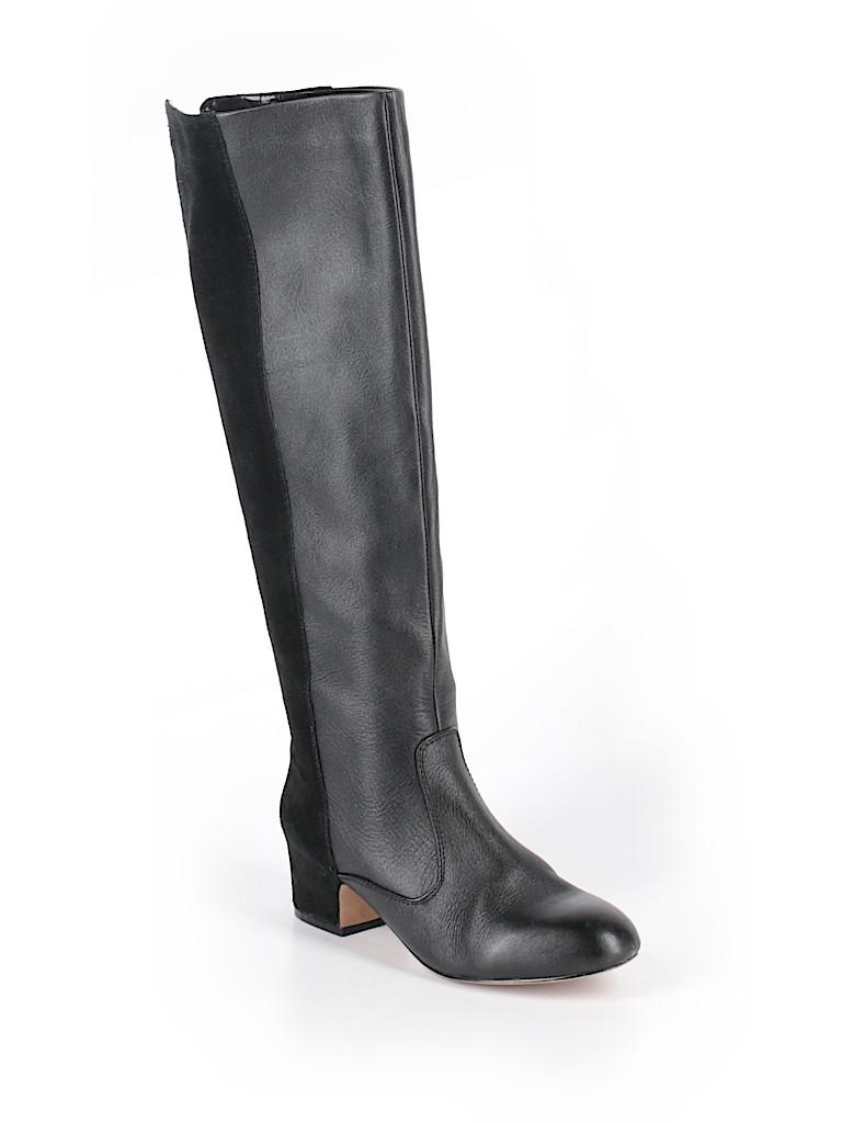 1b53fd62168a Victoria s Secret Solid Black Boots Size 6 1 2 (Plus) - 67% off ...