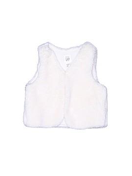 Baby Gap Faux Fur Vest Size 6-12 mo