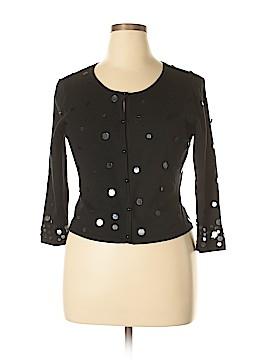 Adrianna Papell Silk Cardigan Size 12
