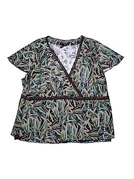 Lane Bryant Outlet Short Sleeve Blouse Size 22 - 24 Plus (Plus)