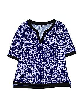 Lapis Short Sleeve Blouse Size 1X (Plus)