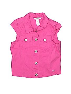 Guess Kids Denim Vest Size 7 - 8