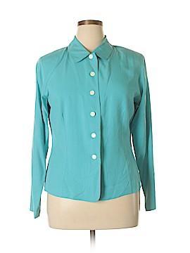 Victoria Holley Silk Blazer Size 16