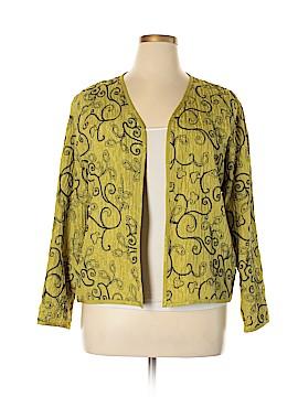Chico's Silk Blazer Size Lg (2)