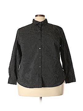 Apt. 9 Long Sleeve Button-Down Shirt Size 2X (Plus)