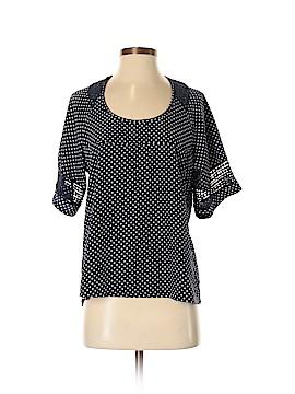 DownEast Basics Short Sleeve Blouse Size S