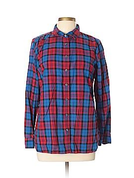 Talbots Long Sleeve Button-Down Shirt Size L