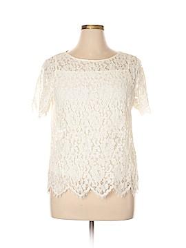 Rafaella Short Sleeve Blouse Size XL