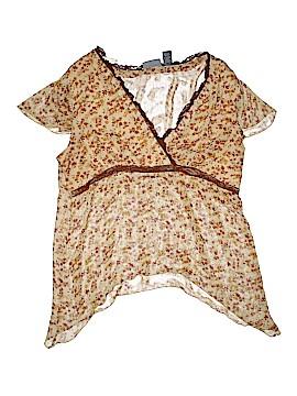 Zoey & Beth Short Sleeve Blouse Size 2X (Plus)