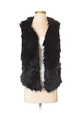 CMNC Woman Faux Fur Vest Size S