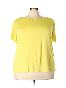Spense Short Sleeve Top Size 2X (Plus)