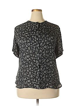 Jones New York Short Sleeve Blouse Size 22 (Plus)