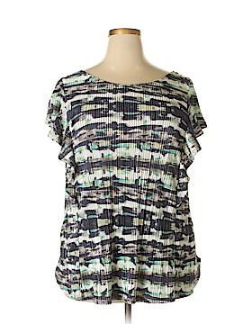 Apt. 9 Short Sleeve Blouse Size 2X (Plus)