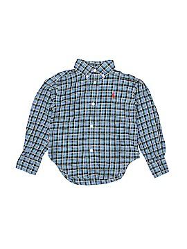 Ralph Lauren Long Sleeve Button-Down Shirt Size 2T