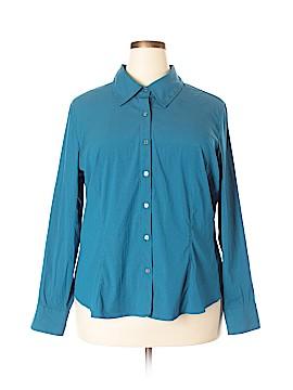 Como Long Sleeve Blouse Size 2X (Plus)