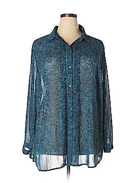 St. John's Bay Long Sleeve Blouse Size 3X (Plus)