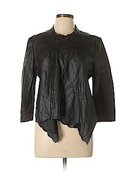 BCBGeneration Faux Leather Jacket Size L
