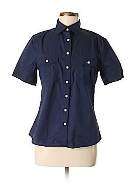 Lands' End Short Sleeve Button-Down Shirt Size 6 - 8
