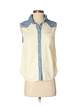 BDG Sleeveless Button-Down Shirt Size S