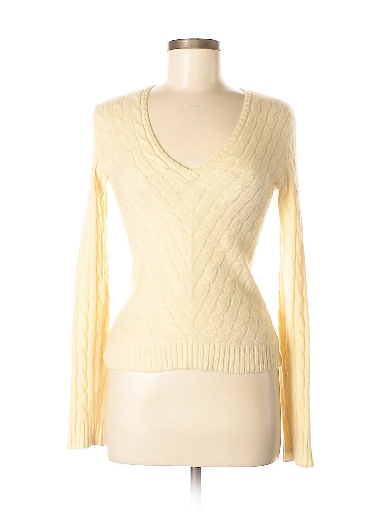 Ralph Lauren Black Label Women Cashmere Pullover Sweater Size M