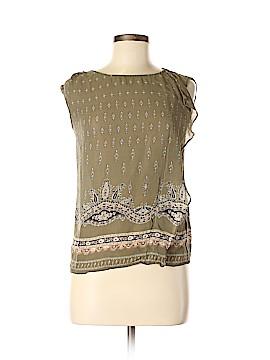 Massimo Dutti Sleeveless Silk Top Size 4