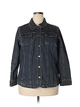 Cj Banks Denim Jacket Size 1X (Plus)