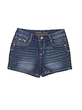 Justice Denim Shorts Size 14 (Slim)