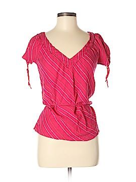 Roxy Short Sleeve Blouse Size M