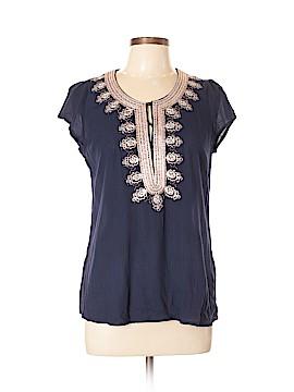 Blue Rain Short Sleeve Button-Down Shirt Size L