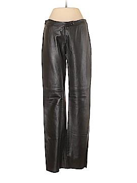 BCBGMAXAZRIA Leather Pants Size 4