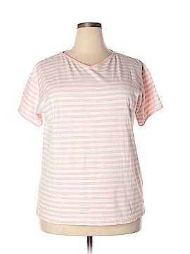 Dockers Short Sleeve T-Shirt Size 1X (Plus)