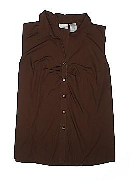 White Stag Sleeveless Button-Down Shirt Size 18 - 20 (Plus)