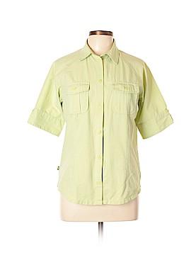 REI Short Sleeve Button-Down Shirt Size L