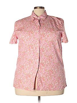 Orvis Short Sleeve Button-Down Shirt Size 2X (Plus)