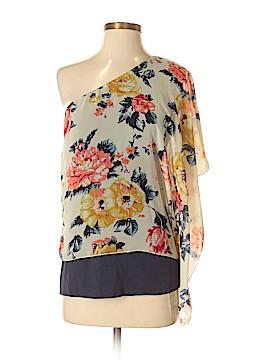 A'gaci Short Sleeve Blouse Size S