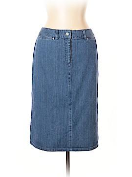 Pendleton Denim Skirt Size 10