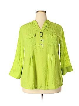 Cocomo 3/4 Sleeve Blouse Size 2X (Plus)