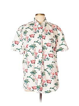 J. Crew Factory Store Short Sleeve Button-Down Shirt Size XL