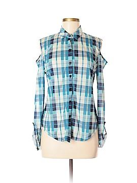 Jonathan Martin Long Sleeve Button-Down Shirt Size M