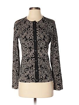 Jones New York Signature Silk Cardigan Size S