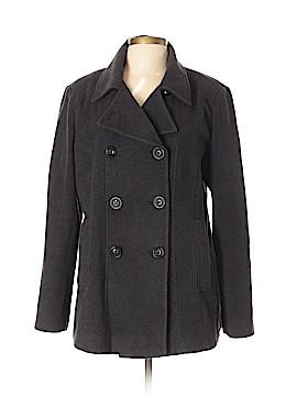 Croft & Barrow Wool Coat Size L
