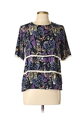 Lila Clothing Co. Short Sleeve Blouse Size L