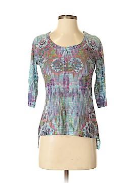 Energe World Wear 3/4 Sleeve Blouse Size S
