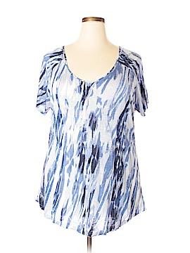 Saint Tropez West Short Sleeve T-Shirt Size 2X (Plus)